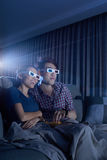 Film 3D de observation Image libre de droits
