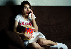 Film d'horreur Photographie stock