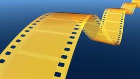 Film stock video footage
