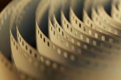 film de cinéma de 35mm Photographie stock
