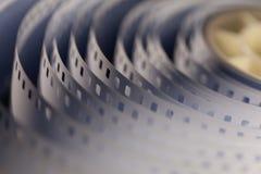 film de cinéma de 35mm Photographie stock libre de droits