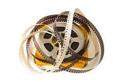 film de film de 8mm Photo stock