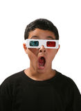 Film de observation de garçon Images libres de droits