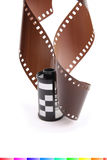 Film de roulis photos libres de droits