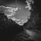 Film de route Photographie stock libre de droits