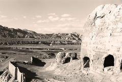 (FILM) de ruïne van Guge Koninkrijk 007 Royalty-vrije Stock Foto's