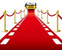 Film de tapis rouge Photographie stock