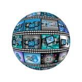 Film 18.04.13 della sfera Fotografie Stock Libere da Diritti