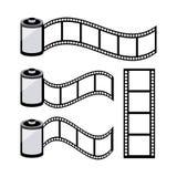 Film design. Over white background, vector illustration Stock Photos