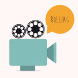 Film design Royalty Free Stock Photo