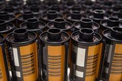 Film di rotolo fotografico 35 millimetri Fotografie Stock