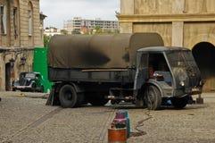 Film die (Kamienie-Na Szaniec) maken in Lublin Stock Afbeeldingen