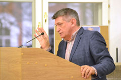 Film director Alexander Sokurov Stock Photography