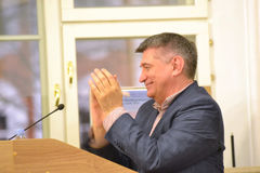 Film director Alexander Sokurov Stock Images
