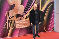 Film director Ferzan Ozpetek at 40th Moscow International Film Festival Royalty Free Stock Photography
