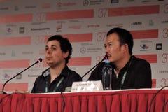 Film Director Haibin Du Stock Images