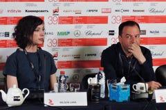 Film director Lana Wilson at 39th Moscow International Film Festival stock photos