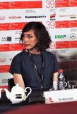 Film director Lana Wilson at 39th Moscow International Film Festival Royalty Free Stock Photo
