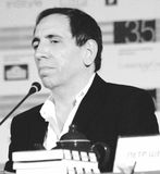 Film director Mohsan Makhmalbaf Royalty Free Stock Photography