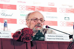 Film director Radoslav Spassov Stock Photo