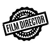 Film Director rubber stamp. Grunge design with dust scratches. Effects can be easily removed for a clean, crisp look. Color is easily changed Royalty Free Stock Photo