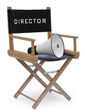 Film director's chair Royalty Free Stock Photos