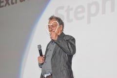 Film Director Stephen Frears receiving Honorary Heart of Sarajevo Royalty Free Stock Photos