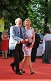 Film director Vladimir Khotinenko with his wife Stock Photo