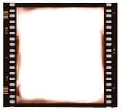 Film emulsion frame Stock Photos