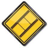 Film en filmnegatieven Stock Foto's