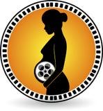 Film enceinte de création illustration de vecteur