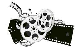 Film equipments. Design element  for movie theme design Stock Photography