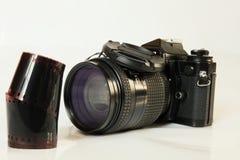 Film et appareil-photo Photographie stock