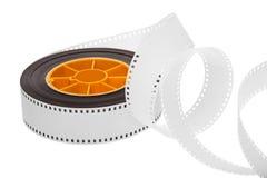 Film et bobine blancs Photos libres de droits