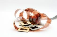 Film et glissières Photos libres de droits