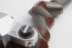 Film exposé photographie stock