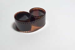 film exposé photographique négatif de 35mm Image stock