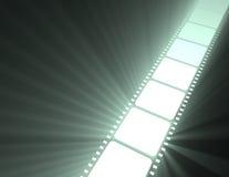 film för lighting för filmstripsignalljus glödande stock illustrationer