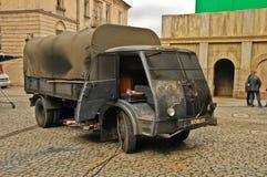 Film faisant (Na Szaniec de Kamienie) à Lublin Image libre de droits
