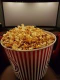Film fan. Cinema without popcorn, not cinema Royalty Free Stock Photo