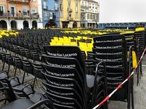 Film festival Locarno Stock Image