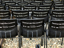 Film festival Locarno Stock Photography