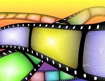 film Film of frame samenvatting stock illustratie