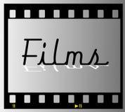 film filmowego ramy pas Obrazy Stock