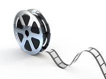 film filmuje film cewę ilustracji