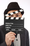 Film flap Royalty Free Stock Photos