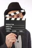 Film flap royalty free stock photos