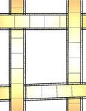 Film frame. Illustration of abstract film frame Royalty Free Stock Photo