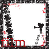 Film frame Stock Images