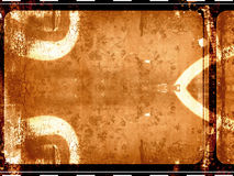 Film frame. Computer designed highly detailed grunge film frame background. Great grunge layer for your projects Stock Images